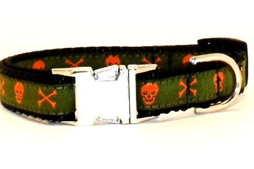 Pirate Dog Collars by FancyNancys