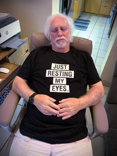 Just Resting My Eyes