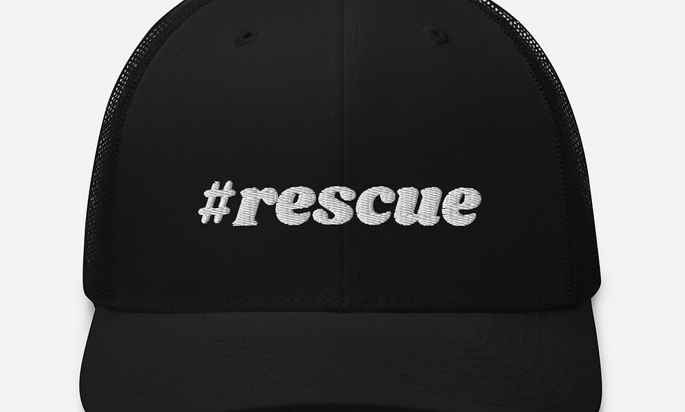 Rescue Retro Trucker Hat - 6606