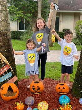 Scared Candy Corn Halloween Shirt