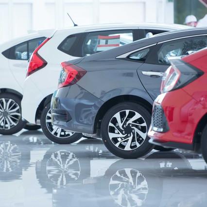 Modelos de autos disponibles para renting a personas