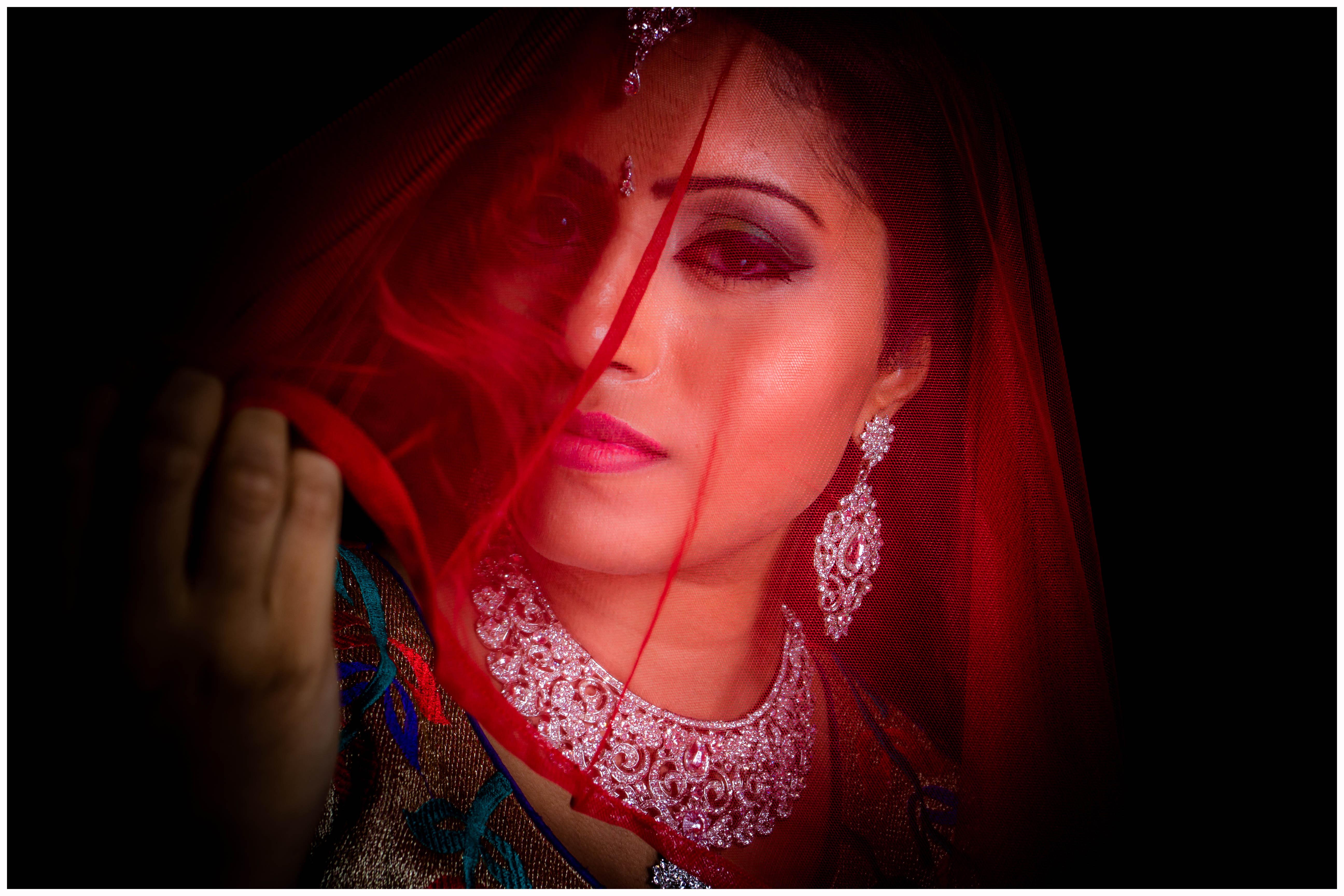 Indian Veil Photoshoot
