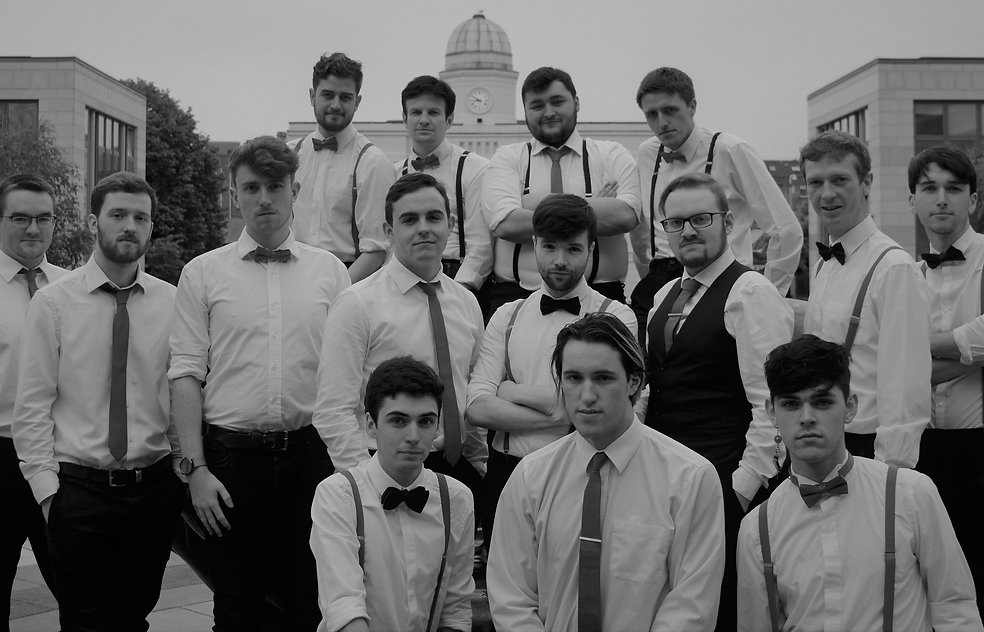 The Ramparts, Barbershop, Choir, Dublin, Serious, Black and White, Contact, Book, BBC, Pitch Battel