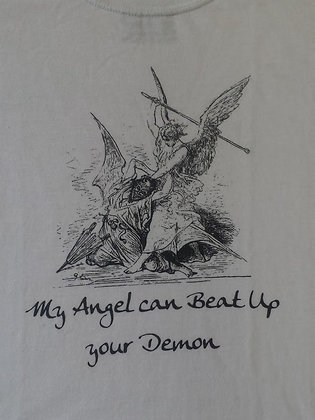 My Angel Can Beat Up Your Demon!