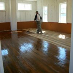 Floors getting stained