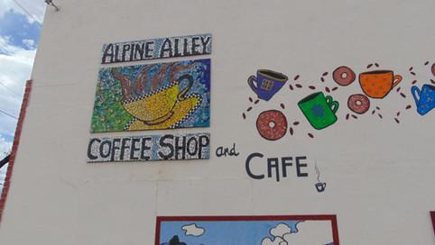 Alpine Alley Cafe Side