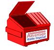 Dallas Front Load Dumpster