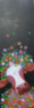 acryl op linnen, 2010, 50 x 150 verkocht
