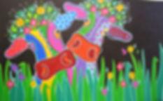 acryl op linnen 2010,80 x 130, verkocht