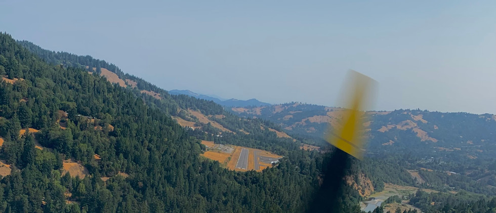 Final approach Garberville - around the hill and over the woods we go.jpg