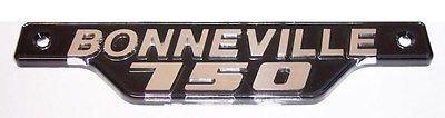 83-7316 - Bonneville 750 Side Cover Badge