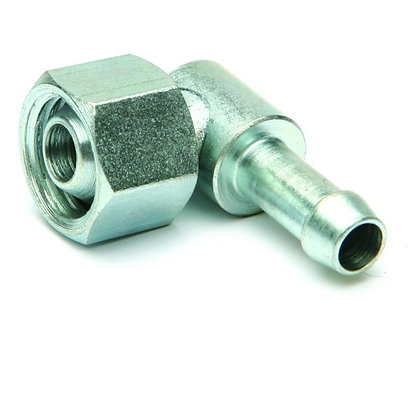 73051 - 90 degree elbow with 1/4'' gas nut