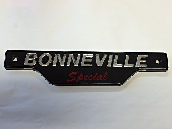 83-7357 - Bonneville Special Side Cover Badge