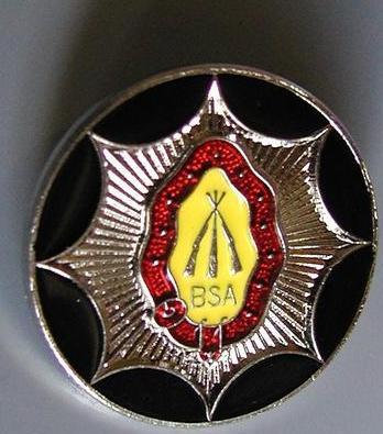 PIN BADGE BSA - BPB23