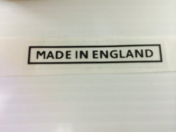 Made in England Decal - 008