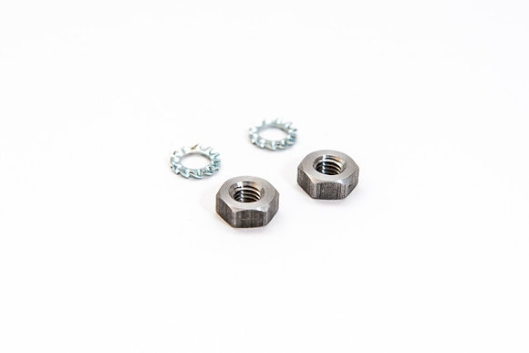 Morgo Pre Unit  Nuts and washers