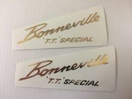 60-0680 - Bonneville 'T.T'. Special sticker