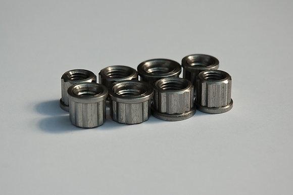 Morgo T140/TR6 12 Point Cylinder Base Nut Set