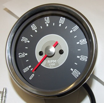 RSM3003/06 - Grey Face Tachometer