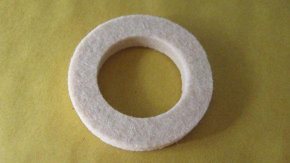 Bsa wheel hub felt washer 67-6075