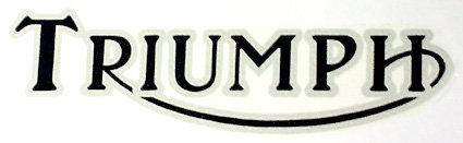 Triumph Transfer Sticker