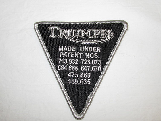 P97XF - Triumph Cloth Badge