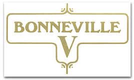 60-3950 - Bonneville V Gold Decal