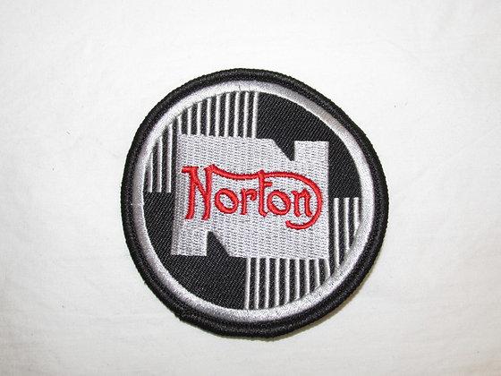 NORTON ROUND  CLOTH PATCH