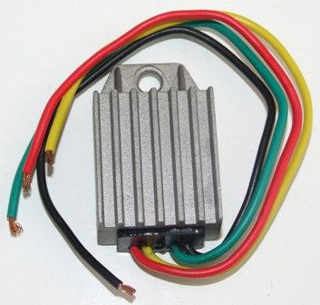 6V DC Regulator Negative