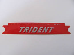 60-4149 - Red Trident Sticker