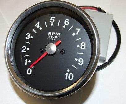 RSM3003/14 - Black Face Tachometer