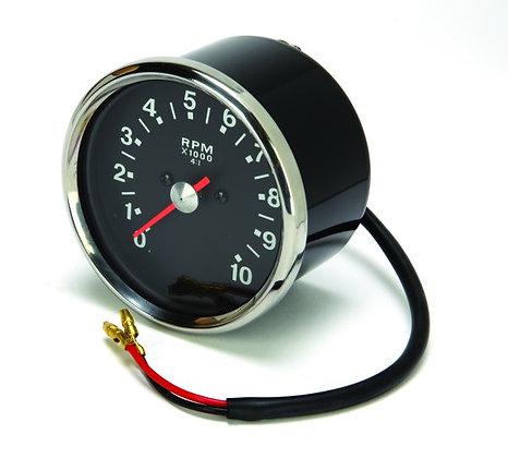 99-0166 - Tachometer Black Late 4:1 Ratio