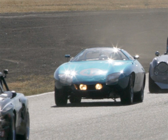 TR250K at the track
