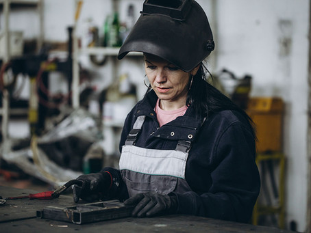 Yes, welding is for women