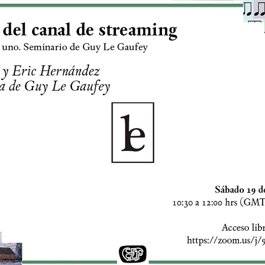 Inauguración del canal de streaming