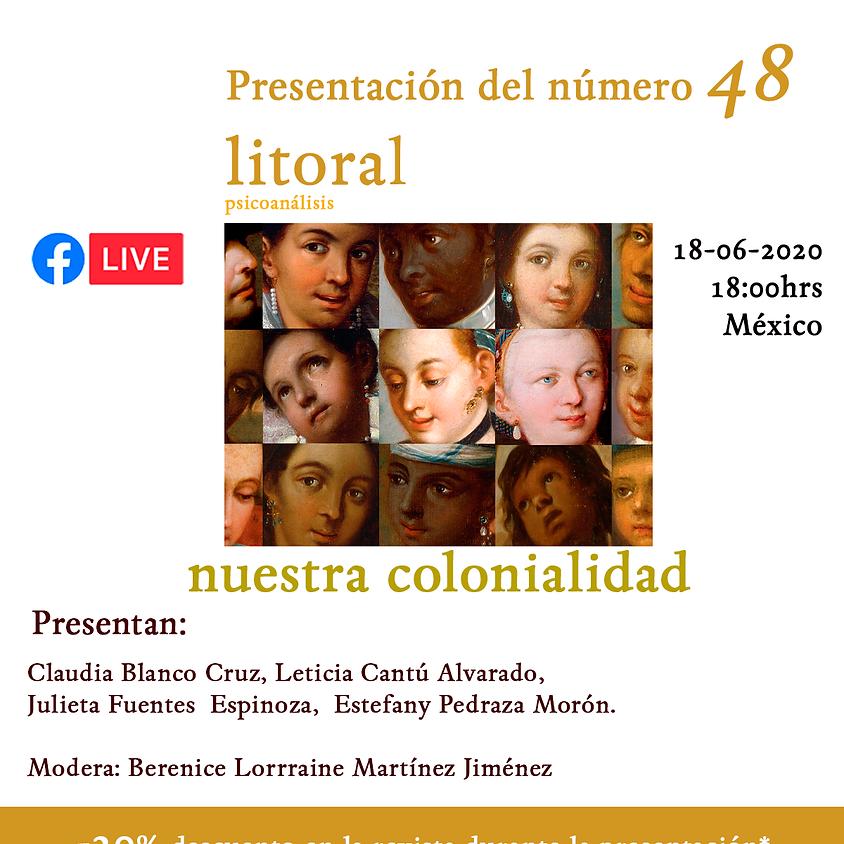 Presentación litoral 48 - nuestra colonialidad