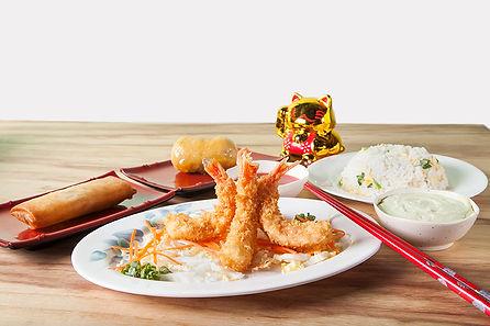 Camarão empanado - Haw lai