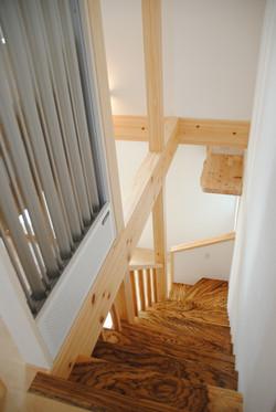 階段上より