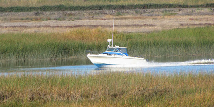 Cruising on the San Joaquin River Delta