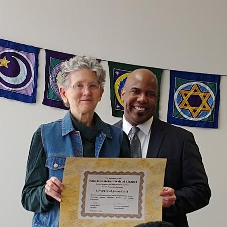 Rev. Jane Batt and Rev. Jim