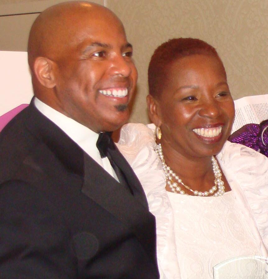 Rev. Jim and Iyanla Vanzant at 2012 Gala