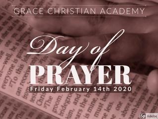 GCA Day of Prayer
