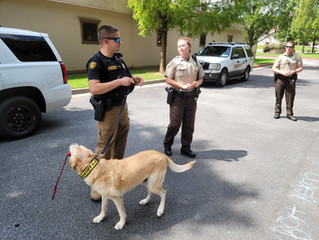 Community Helpers: Sheriff & K9 Unit