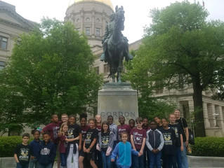 4th Grade at the Capital