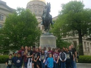 4th Grade at the Capital