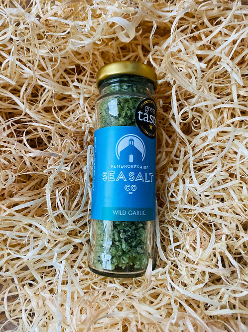 Pembrokeshire Sea Salt Co - Sea Salt with Wild Garlic (70g)