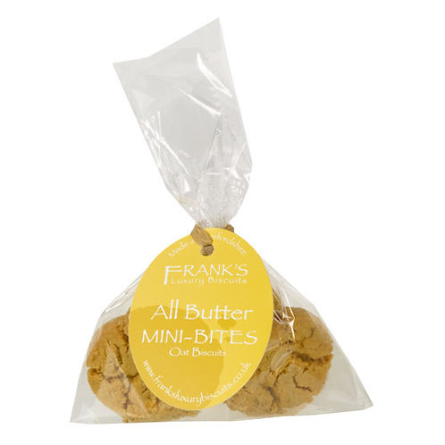 Frank's Luxury Biscuits - All Butter Mini Bites Bag