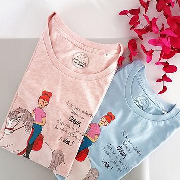 T shirt collection Luna