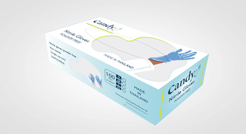 Packaging and Logo Design for Cany Gloves