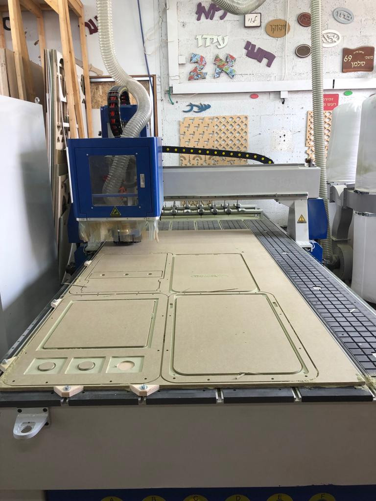 CNC cutting. That's how it all starts.